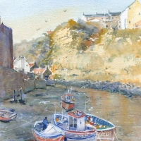 Staithes Cobles