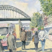 Quayside Market Newcastle upon Tyne