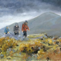 Ramblers in The Mournes